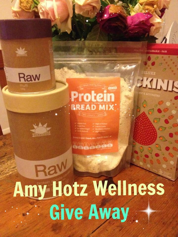 Amy Hotz Wellness First Ever Give Away