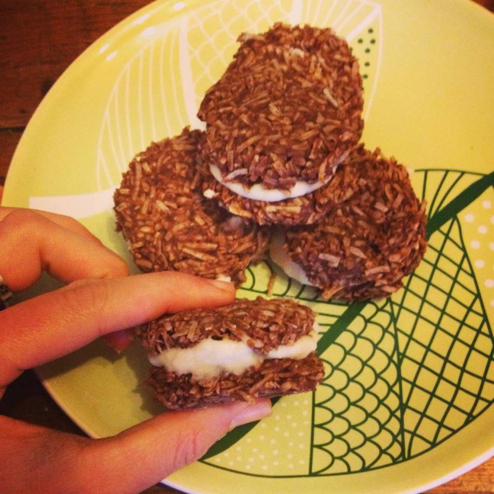 Raw Coconut Chocolate Bombs