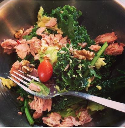 Super Omega Brain Boosting Salad
