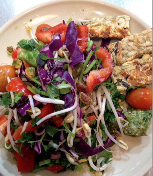 Tempting Tempeh Salad