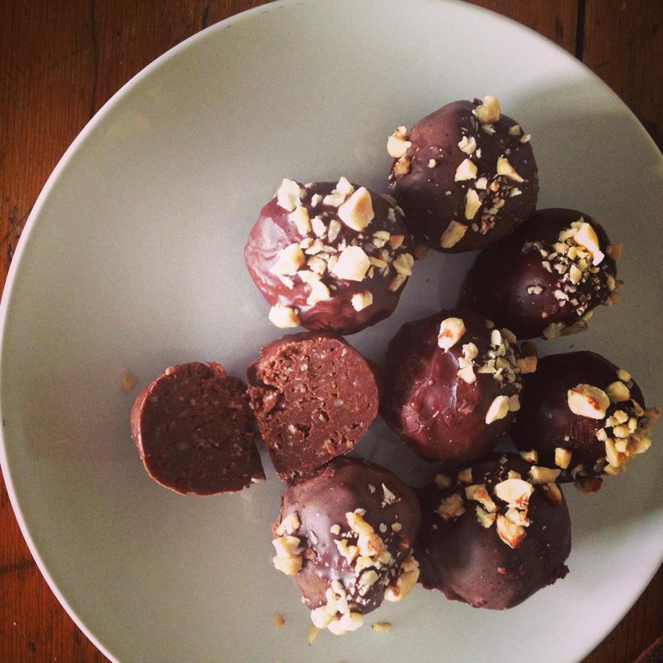 Delicious Protein Truffles