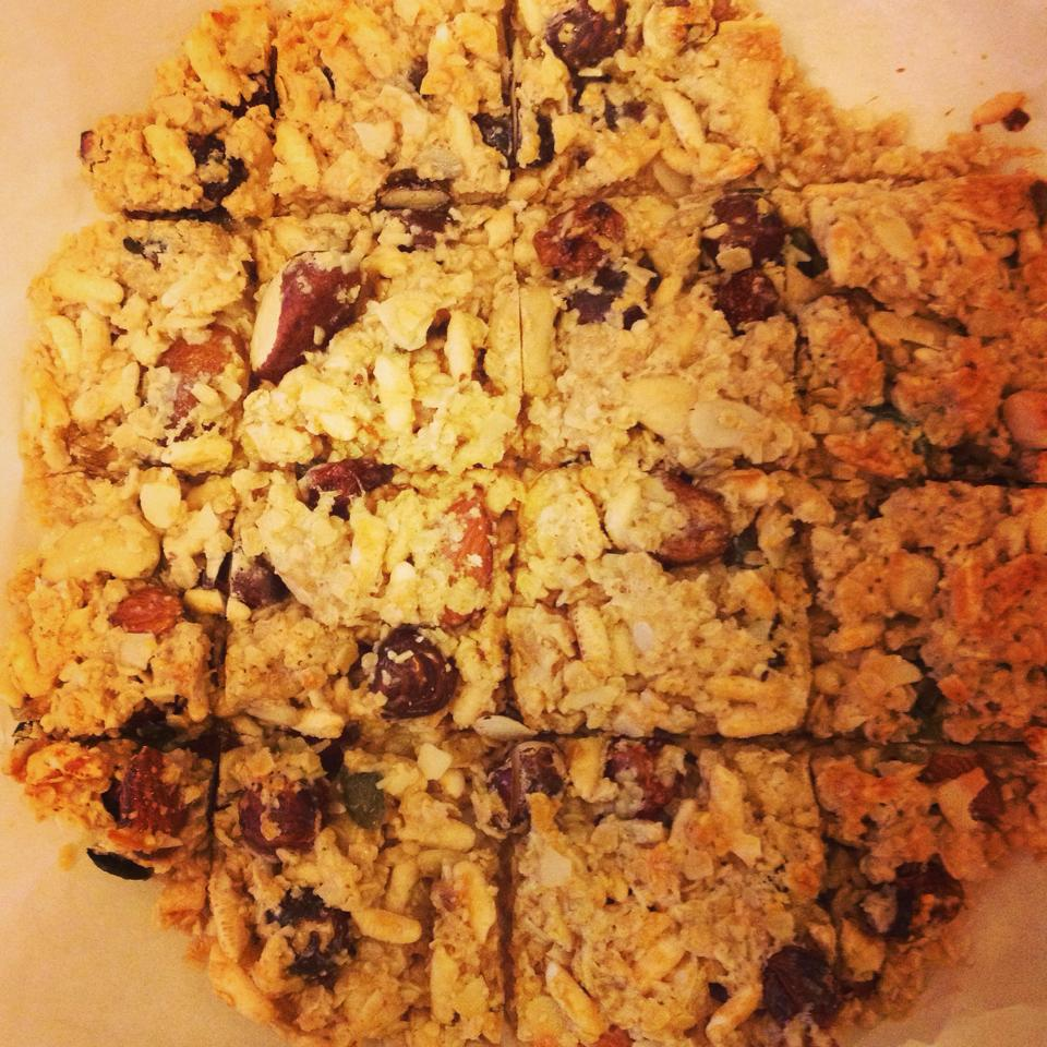 Healthy Energy Squares